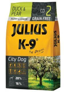 Julius K9 Dry Dog Food - Duck & Pear - Puppy