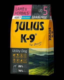 Julius K9 Dry Dog Food - Lamb & Herb - Adult