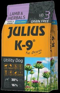 Julius K9 Dry Dog Food - Lamb & Herb - Puppy