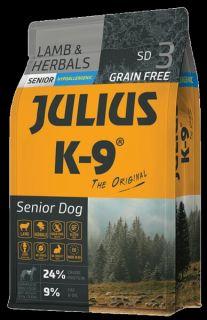 Julius K9 Dry Dog Food - Lamb & Herb - Senior