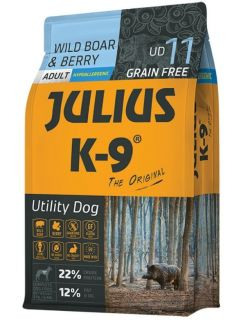 Julius K9 Dry Dog Food - Wild Boar & Berry - Adult